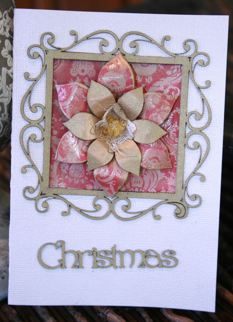 Poinsettia Card 3